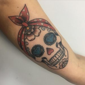 Tattoo calavera mexicana