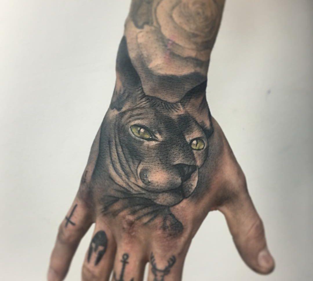 Gato Egipcio Obsession Tattoo