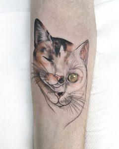 tattoo gato de Kurogosu