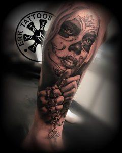 Tattoo Catrina Valencia
