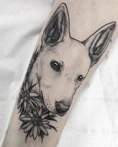 Tattoo perro