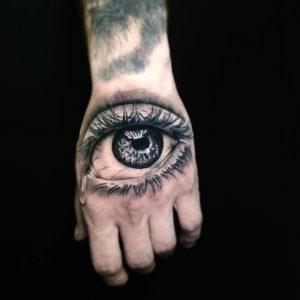 Tattoo ojo realista