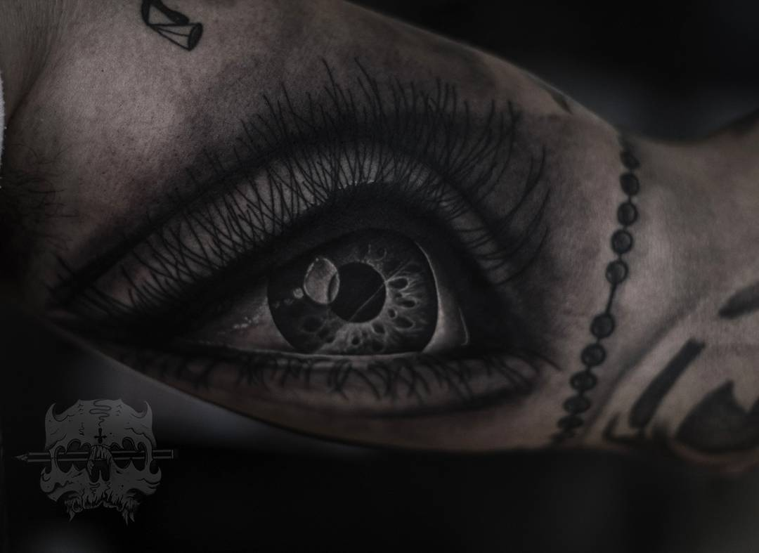 Tatuaje De Ojos Obsession Tattoo
