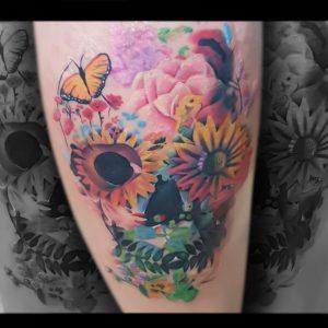 Tattoo mariposa Valencia
