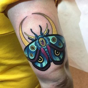 Mariposa por Ink Boy (obsession tattoo)