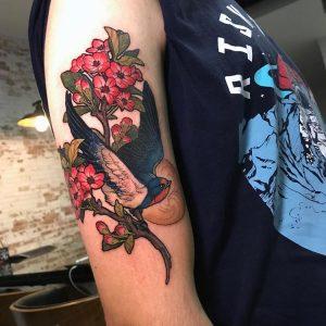 Tatuaje realizado por Alexander Sketch (Obsession Tattoo)