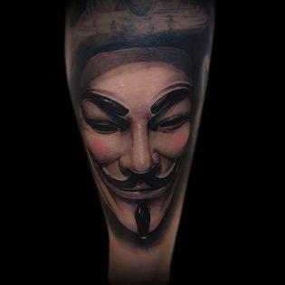 Tatuaje en realismo en