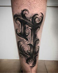 Lettering tattoo en Valencia