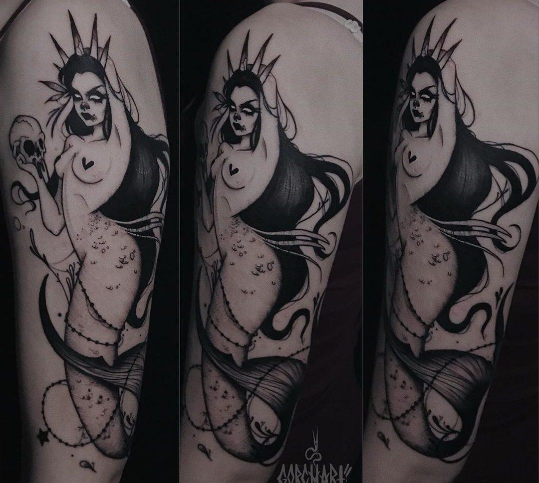 Tatuaje chica en Valencia