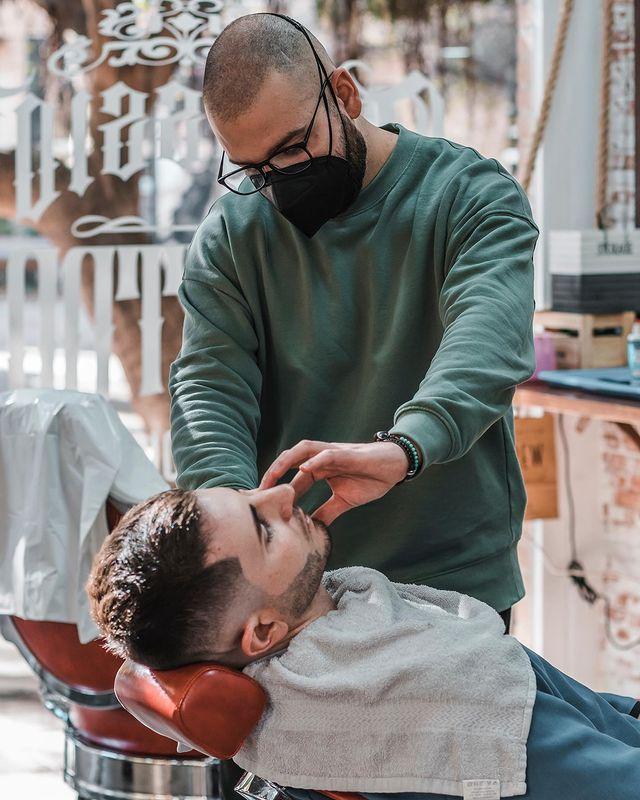 Barbería en balencia para hombres