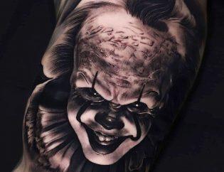 Tatuaje hombre en realismo