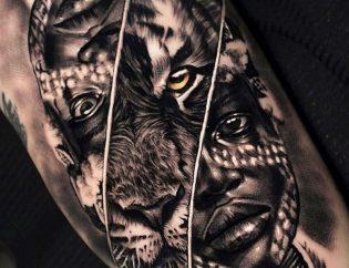 Tatuajes realismo para hombre